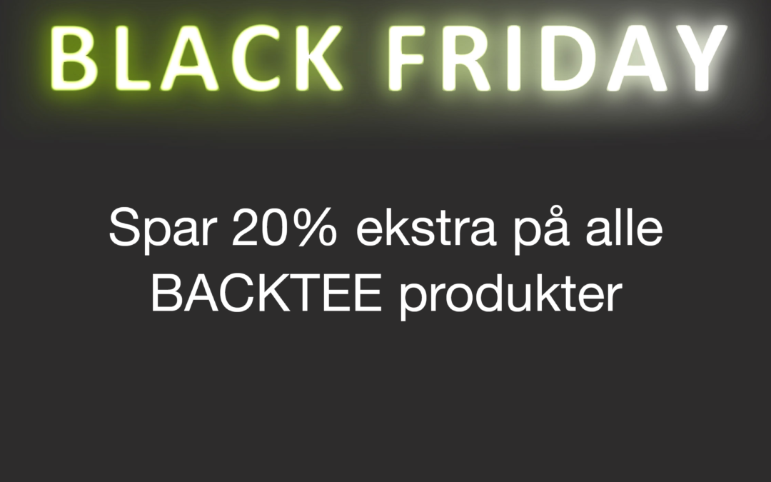 Kom til Black Friday og Cyber Monday