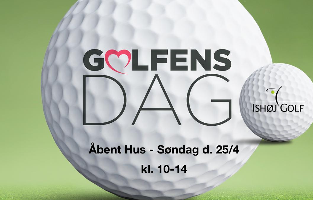 Golfens dag d. 25/4 – kl. 10-14