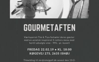 Kanehøjgaard inviterer til gourmetaften