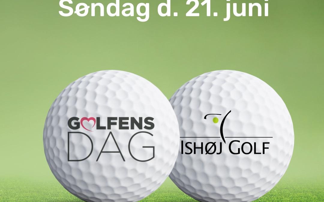Golfens dag søndag den 21. juni kl. 10-14